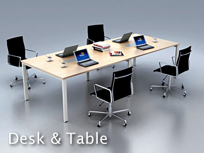 Desk & Table